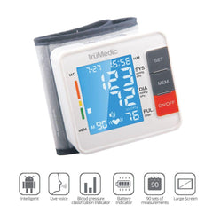 BP1000 Wrist Blood Pressure Monitor