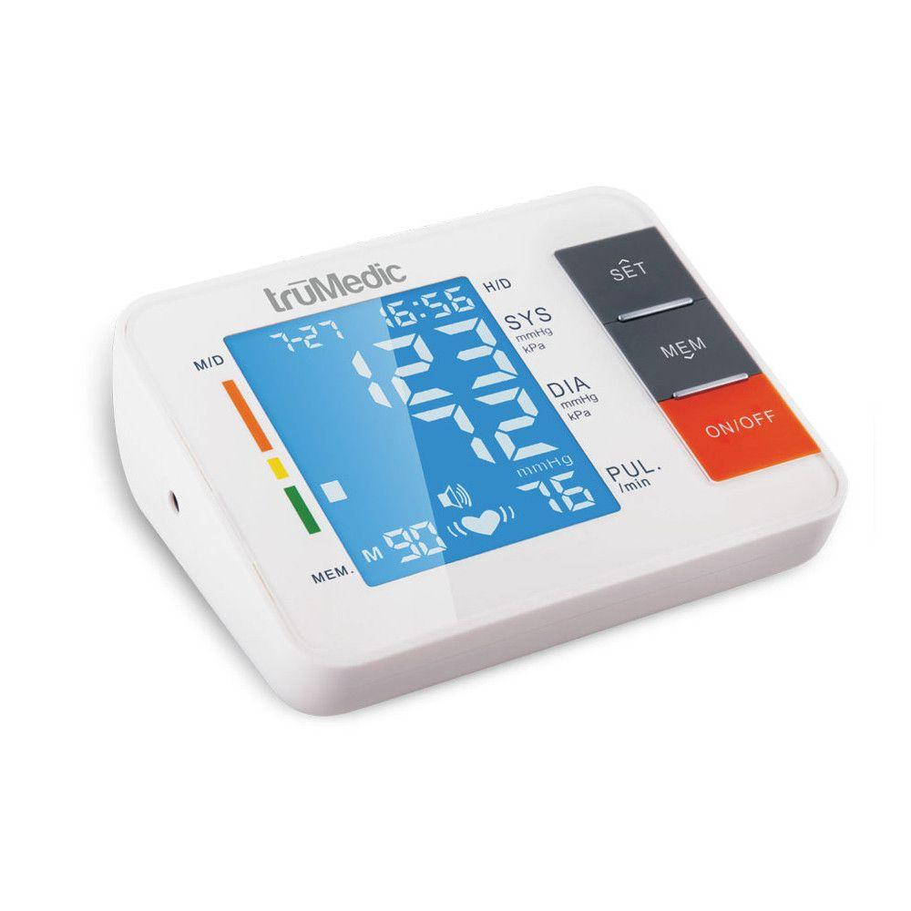 Find peace of mind and keep track of your health with our professional grade upper arm blood pressure monitor. It's portable, easy-to-use and amazing value