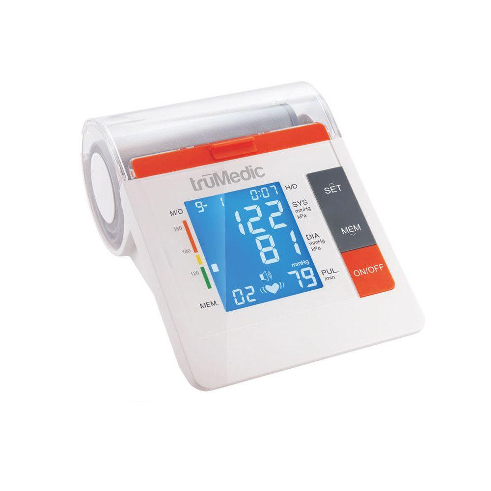 Take full control of your health with truMedics premium upper arm blood pressure monitor. Stores up to 90 readings on a easy to read monitor. FREE SHIPPING