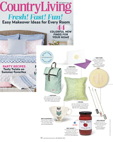 Country Living magazine July/August 2014