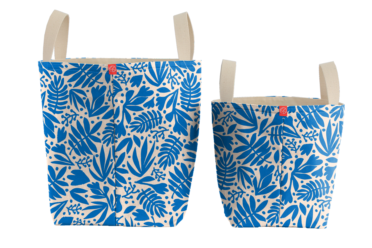 Bucket Totes | Tropical Cobalt
