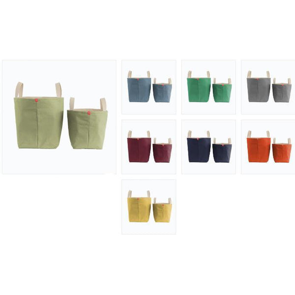 Bucket Totes in Solid Colors (more colors)