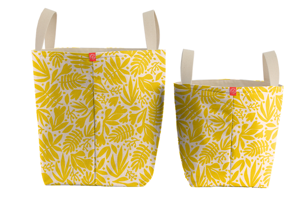 Bucket Totes | Tropical Gold