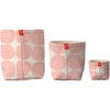 Fabric Buckets | Stones Blush