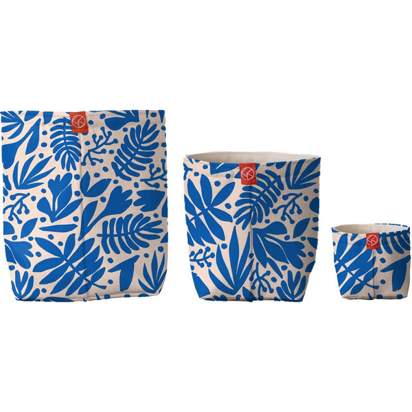 Fabric Buckets | Tropical Cobalt