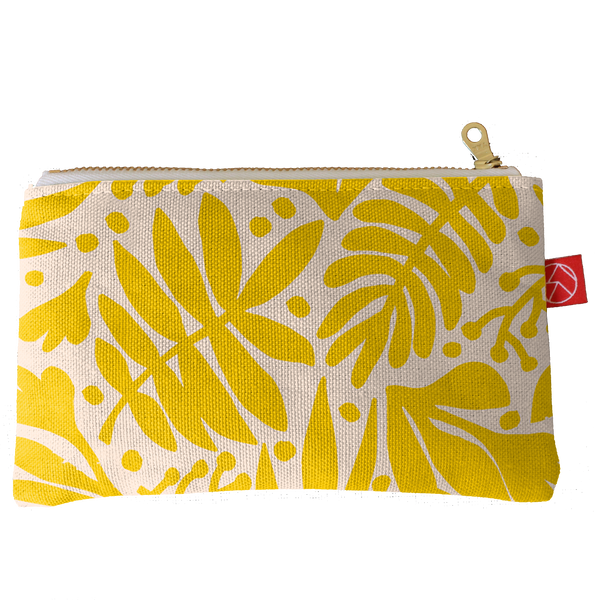 Card Pouch | Tropical Gold
