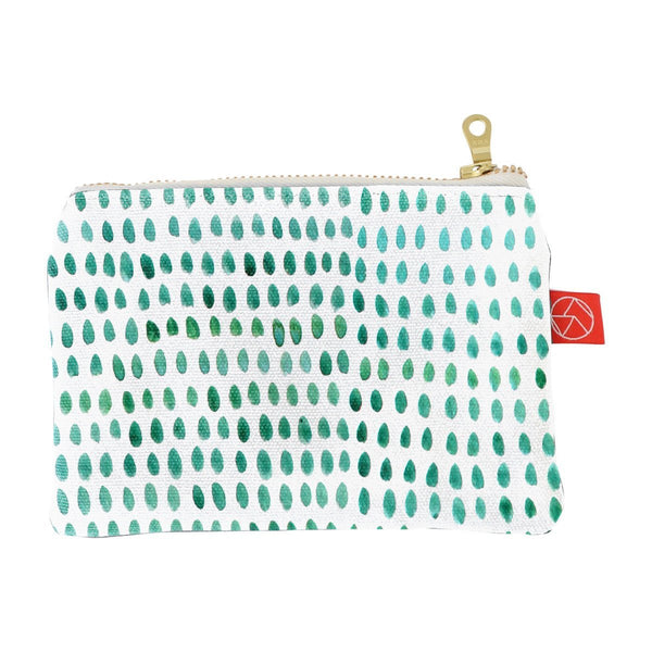 Card Pouch | Spots Green