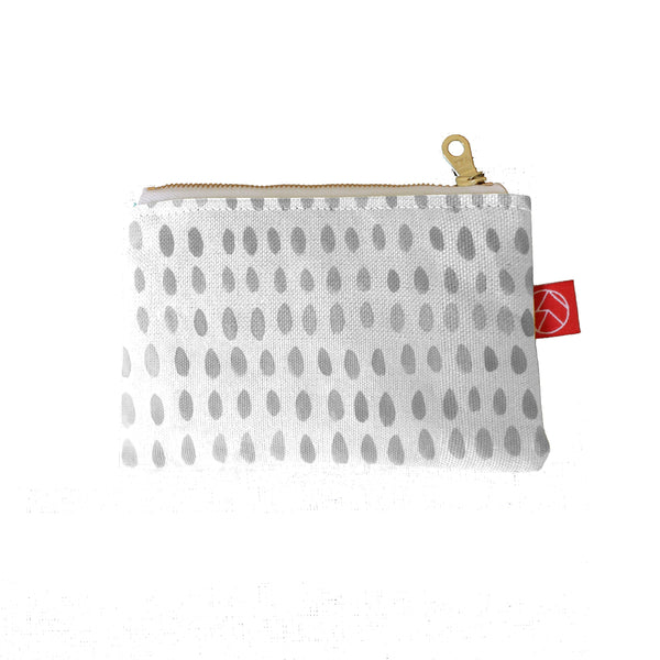 Mini Pouch | Spots Grey