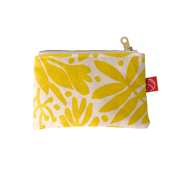 Mini Pouch | Tropical Gold