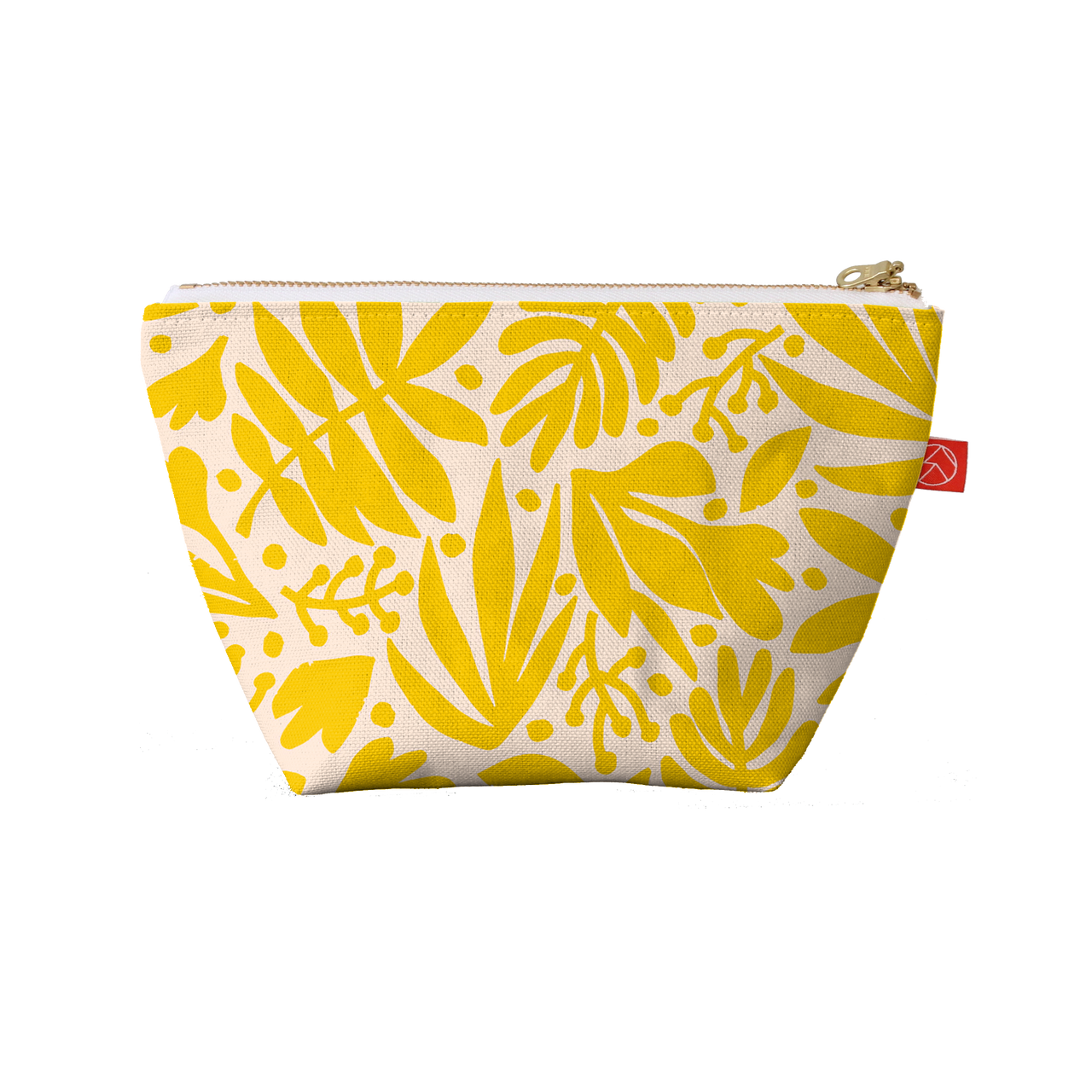 Travel Pouches | Tropical Gold