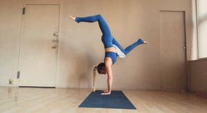 60- Minute Hamstring & Handstand Class (+ drills)