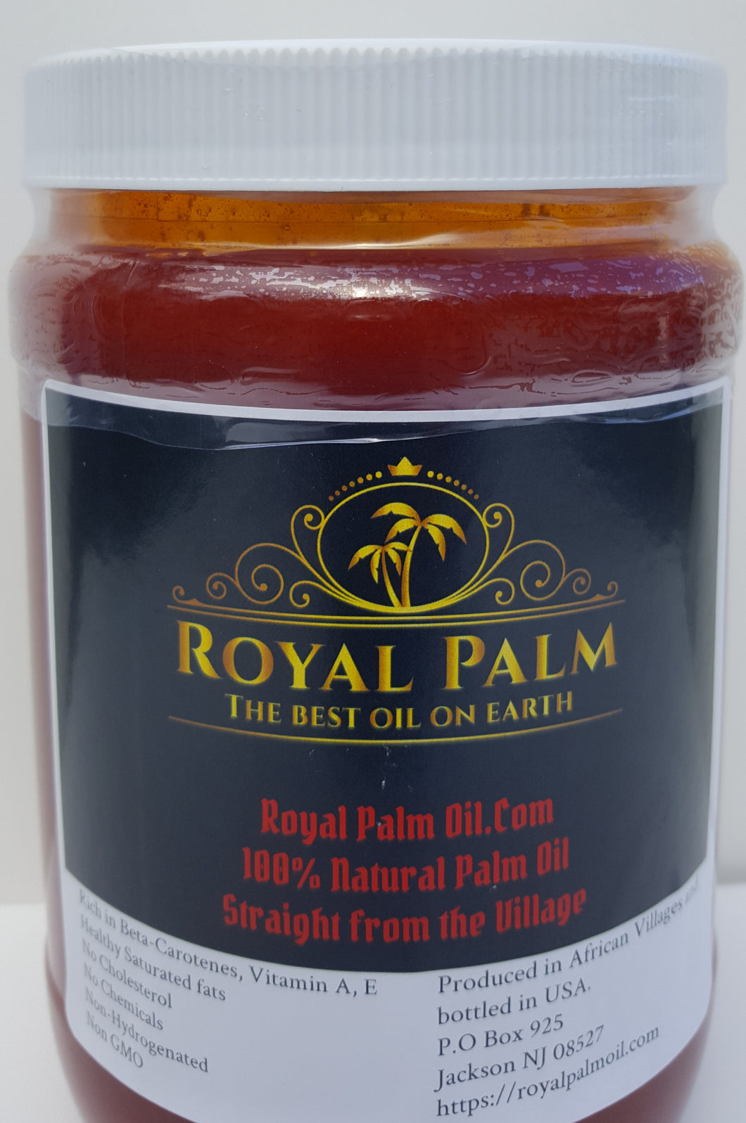32 Oz Bottle of Red Palm Oil