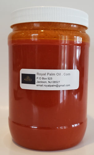 Thick Natural Palm Oil