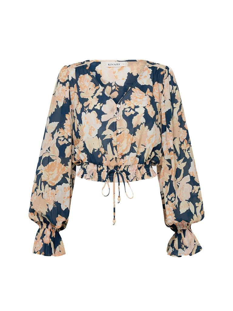 Briar Floral Cotton Blouse