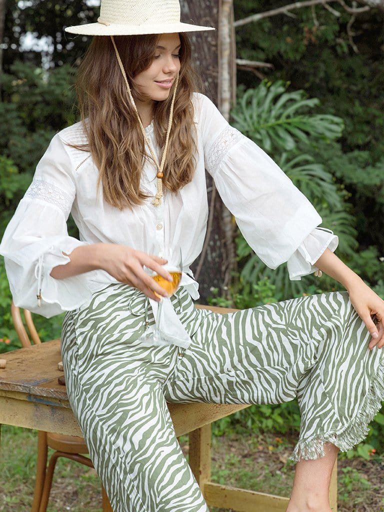 Savannah Linen Pants