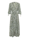 Savannah Tie Front Maxi Dress