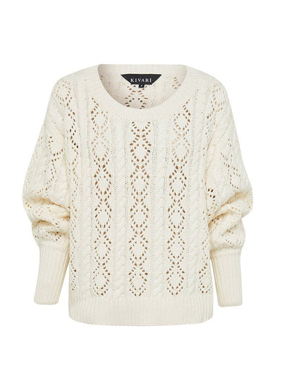 Abigail Knit Jumper - Cream