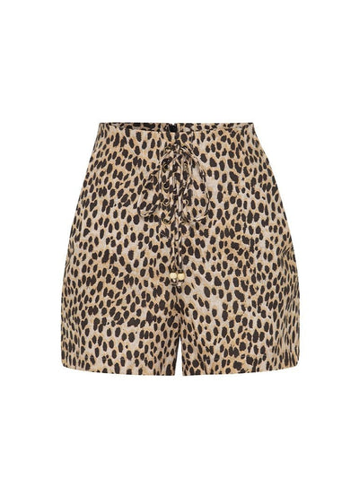 Billie Leopard Shorts