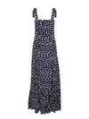 Victoria Polka Strappy Maxi Dress