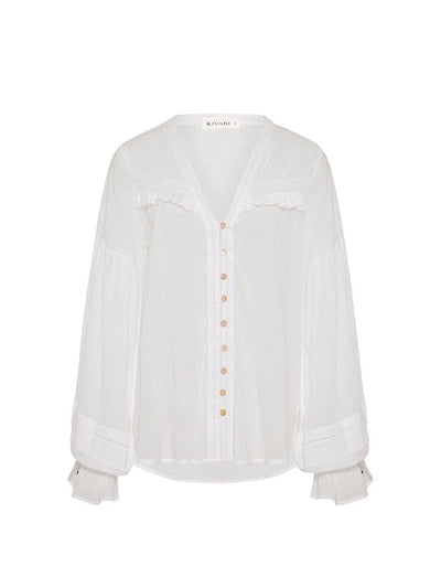 Vivien Blouse - White