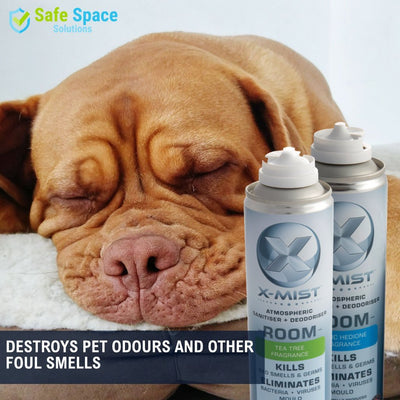 12 Pack: X-Mist Atmospheric Room Sanitiser & Deodoriser - 250ml - Safe Space Solutions Ltd