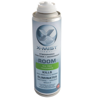 Twin Pack: X-Mist Atmospheric Room Sanitiser & Deodoriser - 250ml - Safe Space Solutions Ltd