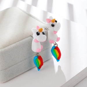 Cute 3D Unicorn Earrings