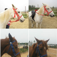 Load image into Gallery viewer, Full Horse Bridle With Fixed Rein