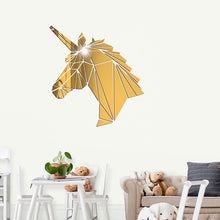 Load image into Gallery viewer, 3D Horse Acrylic Sticker Mirror