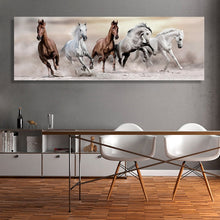 Load image into Gallery viewer, Canvas Running Horse Painting
