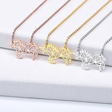Load image into Gallery viewer, Golden Unicorn Necklace