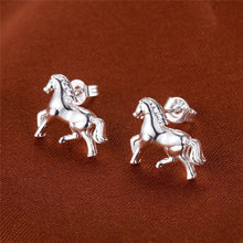 Load image into Gallery viewer, Horse 2 in 1 Earring & Necklace