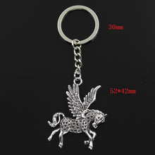 Load image into Gallery viewer, Fly Horse Unicorn Pendants Key Chain