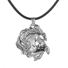 Load image into Gallery viewer, Plated Horse Lover Necklace