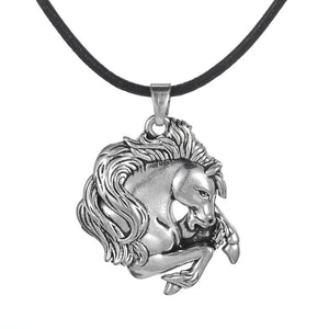 Plated Horse Lover Necklace
