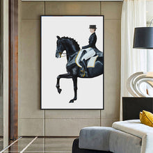 Load image into Gallery viewer, Modern Luxurious Horse Canvas Painting