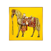 Load image into Gallery viewer, Red & Yellow War Horse Painting