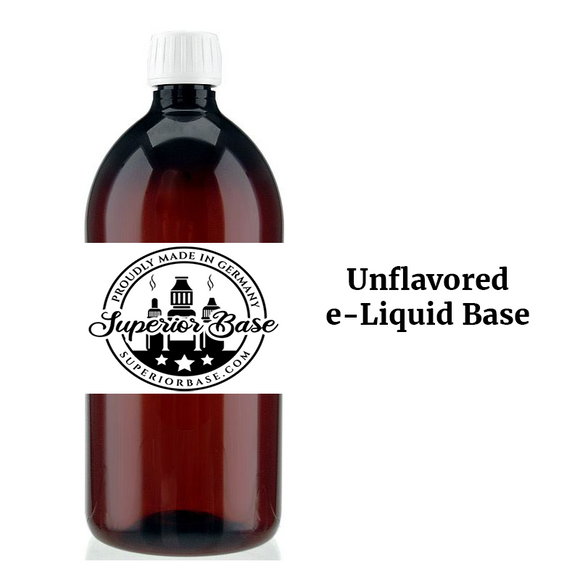 Unflavored E-Liquid Base