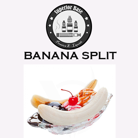 Superiorbase Flavor Concentrates - Banana Split - 10ml - Premium E-Liquids & More