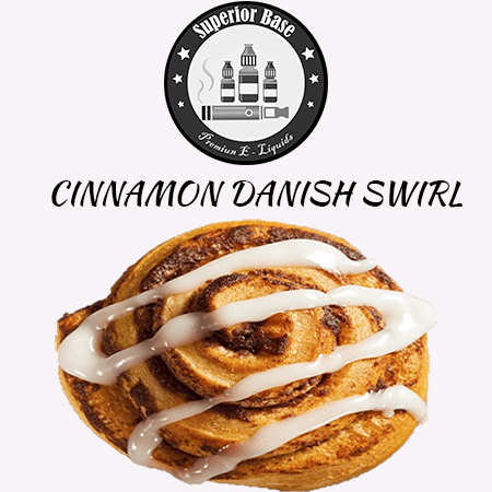Superiorbase Flavor Concentrates - Cinnamon Danish Swirl - 10ml - Premium E-Liquids & More