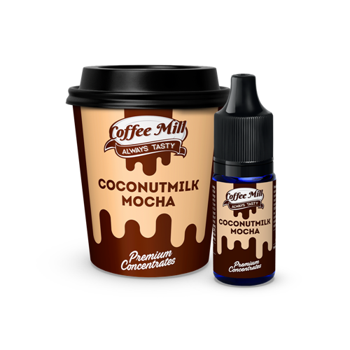 Coffee Mill - Coconutmilk Mocha - 10 ml Concentrate - Premium E-Liquids & More