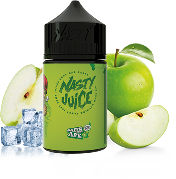 Nasty Juice - Green Ape - 30ml - Premium E-Liquids & More