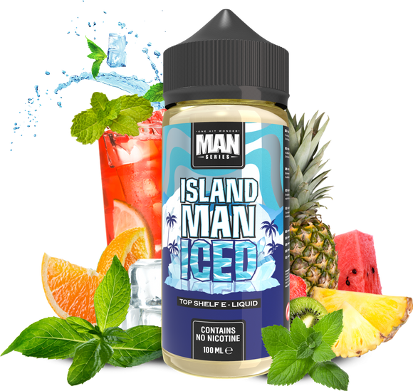One Hit Wonder Man Series - Iced Island Man - 100ml - Premium E-Liquids & More