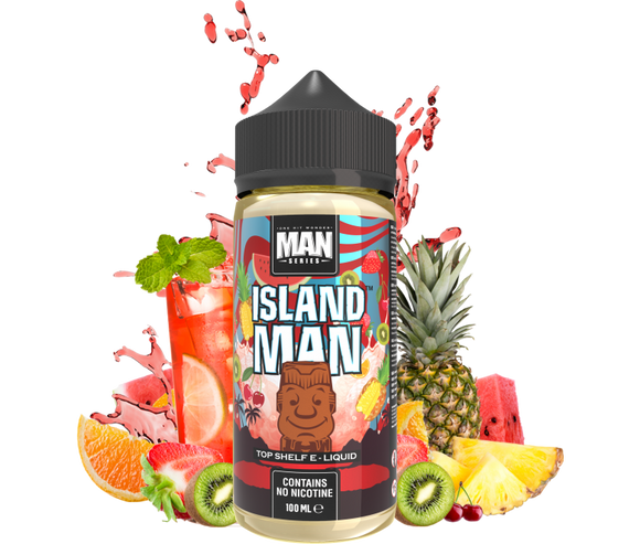 One Hit Wonder Man Series - Island Man - 100ml - Premium E-Liquids & More