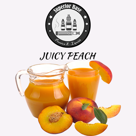Superiorbase Flavor Concentrates - Juicy Peach - 10ml - Premium E-Liquids & More