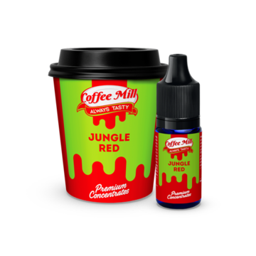 Coffee Mill - Jungle Red - 10 ml Concentrate - Premium E-Liquids & More