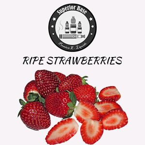 Superiorbase Flavor Concentrates - Ripe Strawberries - 10ml - Premium E-Liquids & More