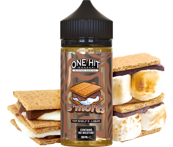 One Hit Wonder Winter Series - S'Mores - 100ml - Premium E-Liquids & More