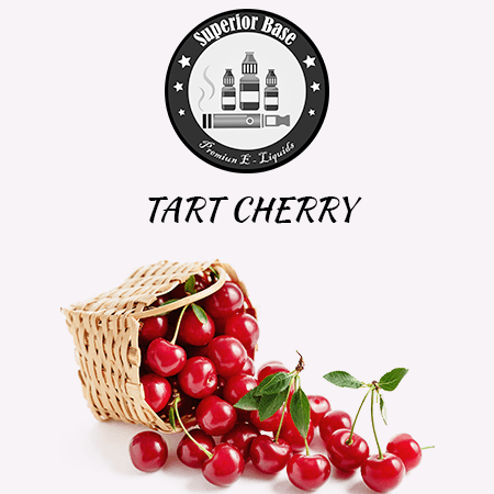 Superiorbase Flavor Concentrates - Tart Cherry - 10ml - Premium E-Liquids & More