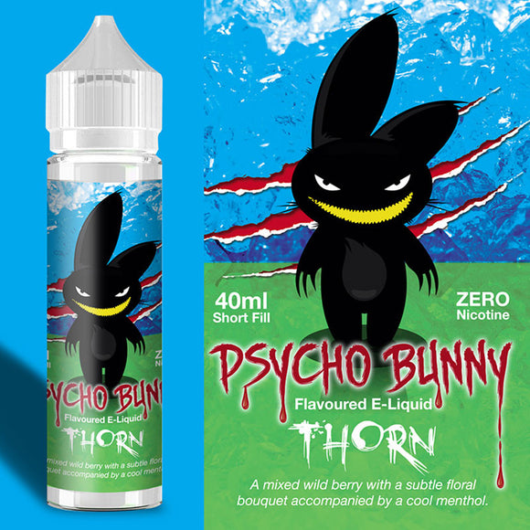 Psycho Bunny - Thorn - 40ml / 0mg - Premium E-Liquids & More